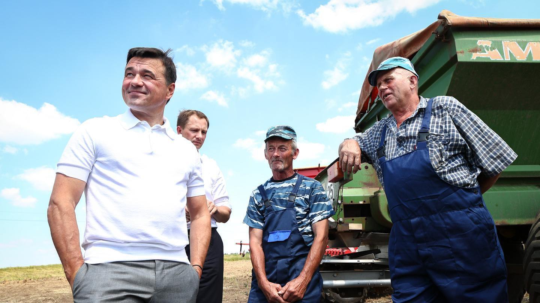 Андрей Воробьев губернатор московской области - Андрей Воробьев губернатор московской области - Аграрии в Кашире
