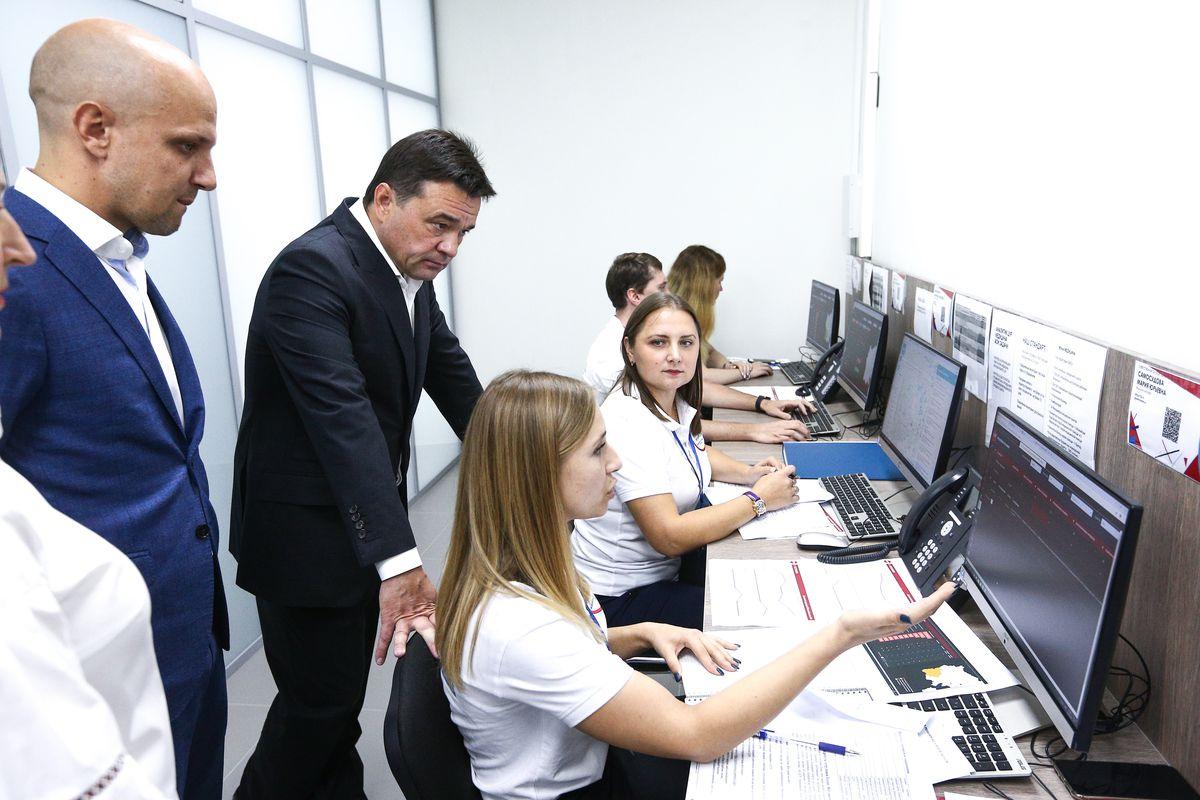 Андрей Воробьев губернатор московской области - Отработать по максимуму. Муниципальный ЦУР заработал в Можайске