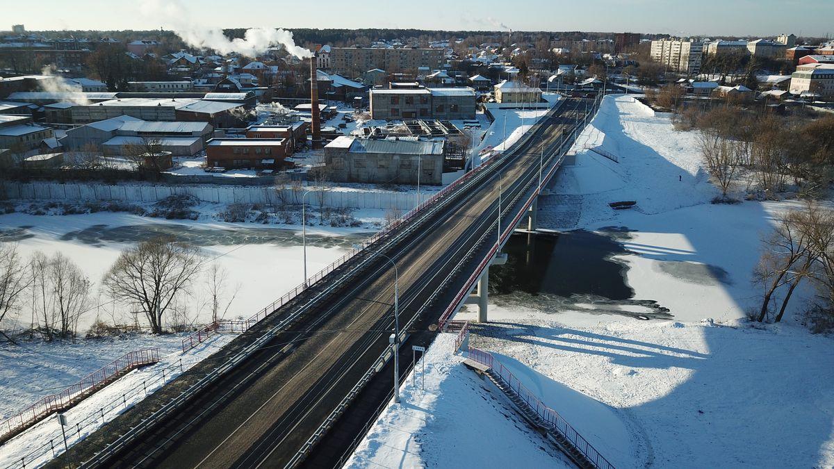 Андрей Воробьев губернатор московской области - Открытие моста в Серпухове