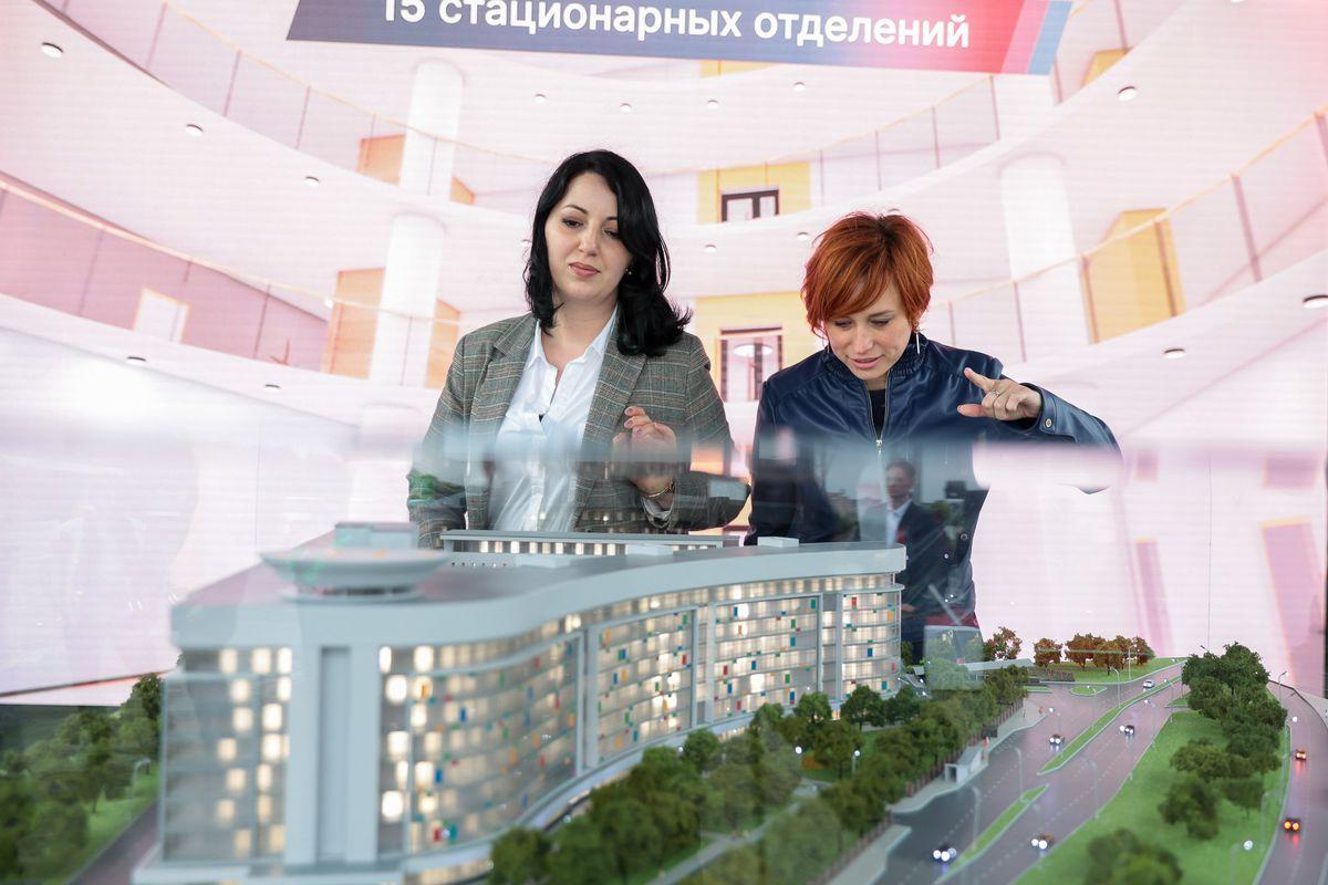 Андрей Воробьев губернатор московской области - Эпохальное событие. В Красногорске начали строительство уникальной детской больницы