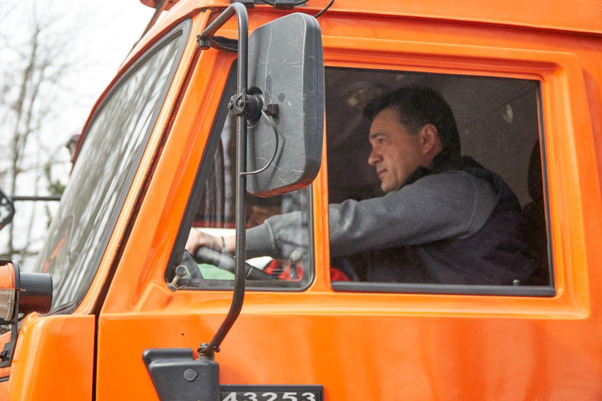 Андрей Воробьев губернатор московской области - Общеобластной субботник в Подмосковье