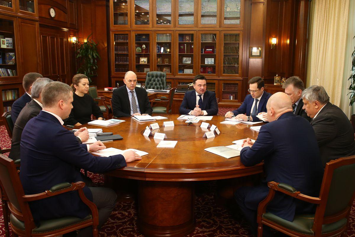 Андрей Воробьев губернатор московской области - Встреча с представителями правоохранительных органов