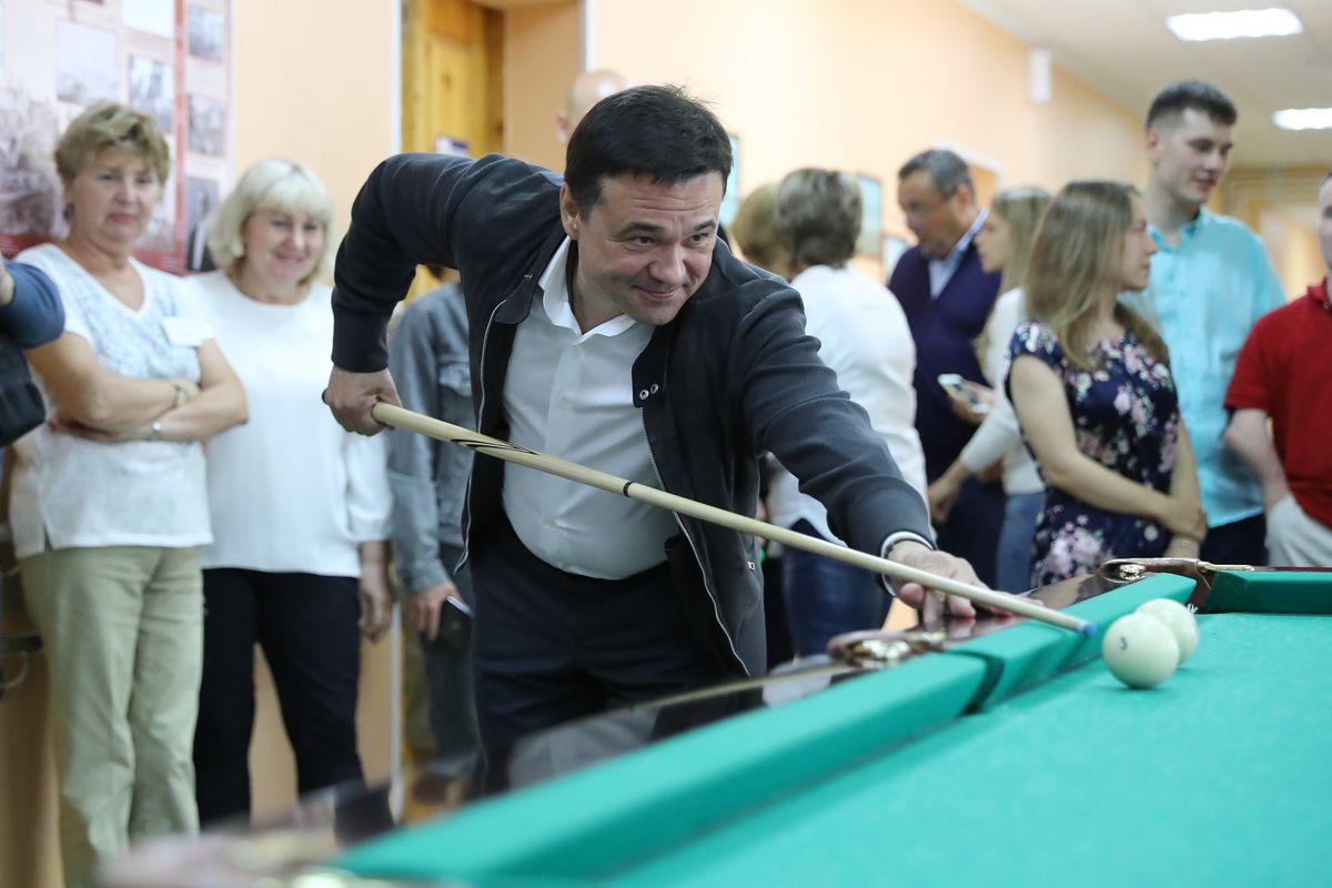 Андрей Воробьев губернатор московской области - Губернатор посетил «Дмитровский детский дом-интернат»