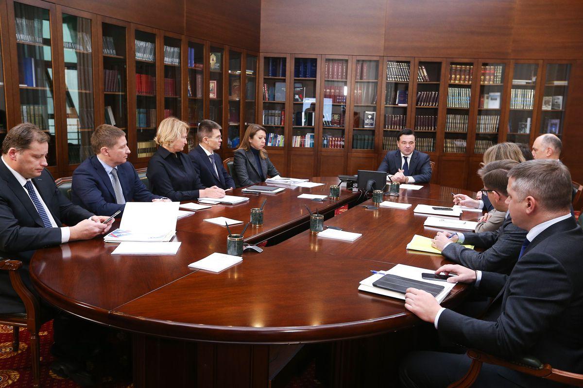 Андрей Воробьев губернатор московской области - Дороги, искусство, экология: что обсудили на совещании с зампредами