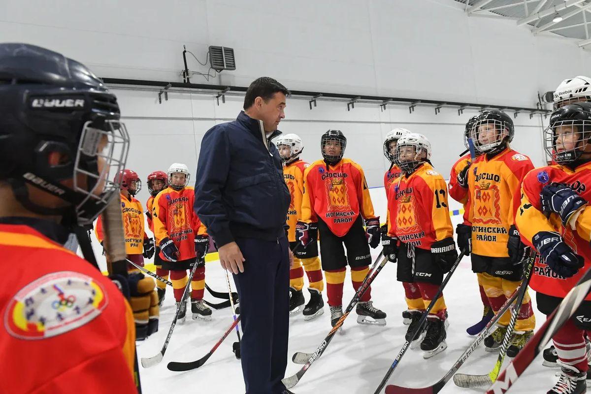 Андрей Воробьев губернатор московской области - Доступный спорт: какие спортивные объекты появились за последние годы в Богородском округе