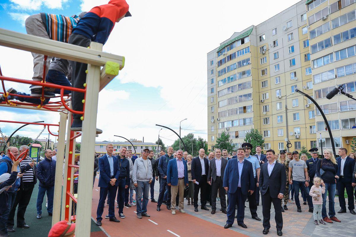 Андрей Воробьев губернатор московской области - Глава региона проинспектировал ход строительных работ в Подольске