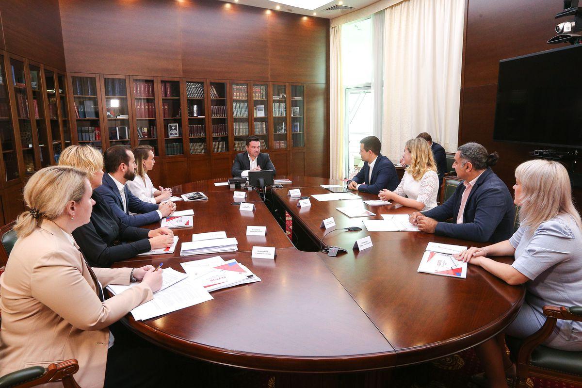 Андрей Воробьев губернатор московской области - Губернатор встретился с активистами из Реутова