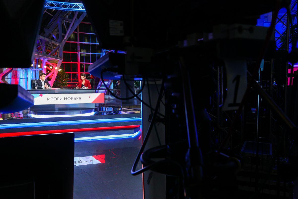 Андрей Воробьев губернатор московской области - Закрыть полигоны и открыть дороги. Традиционный эфир на телеканале «360»