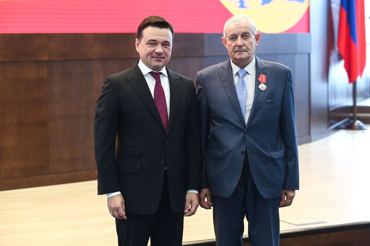 Андрей Воробьев губернатор московской области - Выдающихся жителей области наградили в Подмосковье