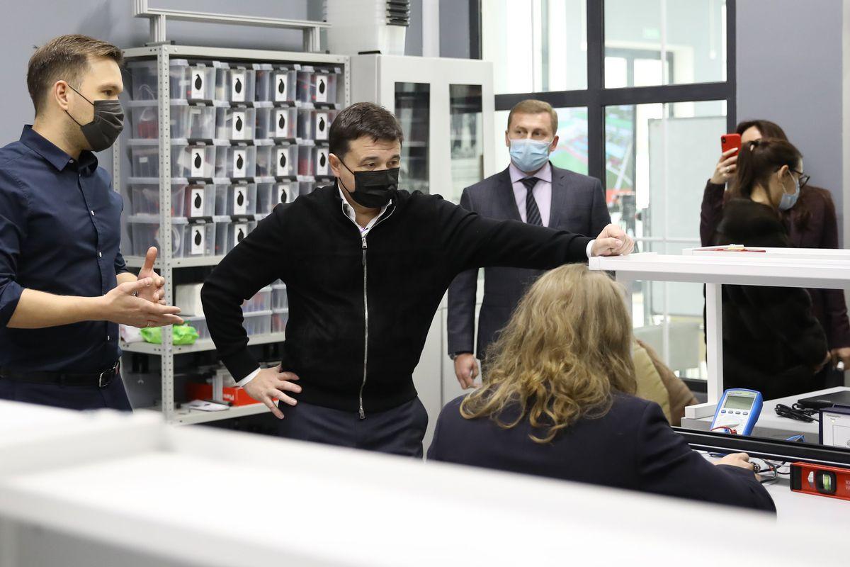 Андрей Воробьев губернатор московской области - Академгородок для школьников: в Долгопрудном готовят будущее российской науки