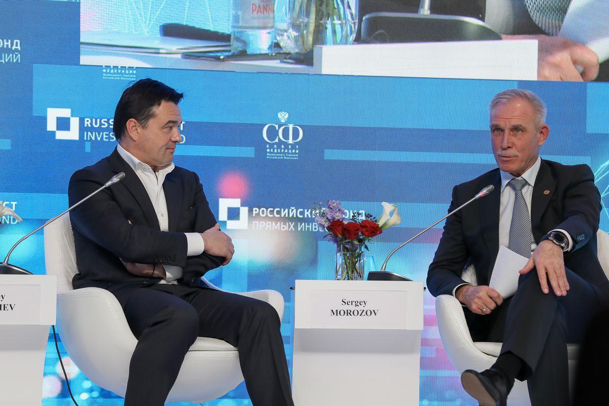 Андрей Воробьев губернатор московской области - Инвесторы идут в Подмосковье: губернатор рассказал об успехах области