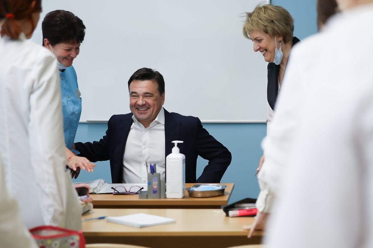 Андрей Воробьев губернатор московской области - Благоустройство и новый колледж: как изменился Егорьевск