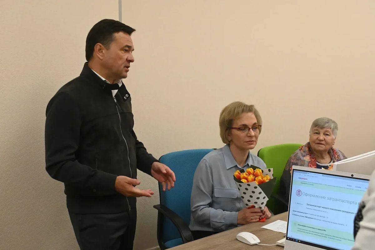 Андрей Воробьев губернатор московской области - Чтобы не скучать: развитие «Активного долголетия» в Королеве