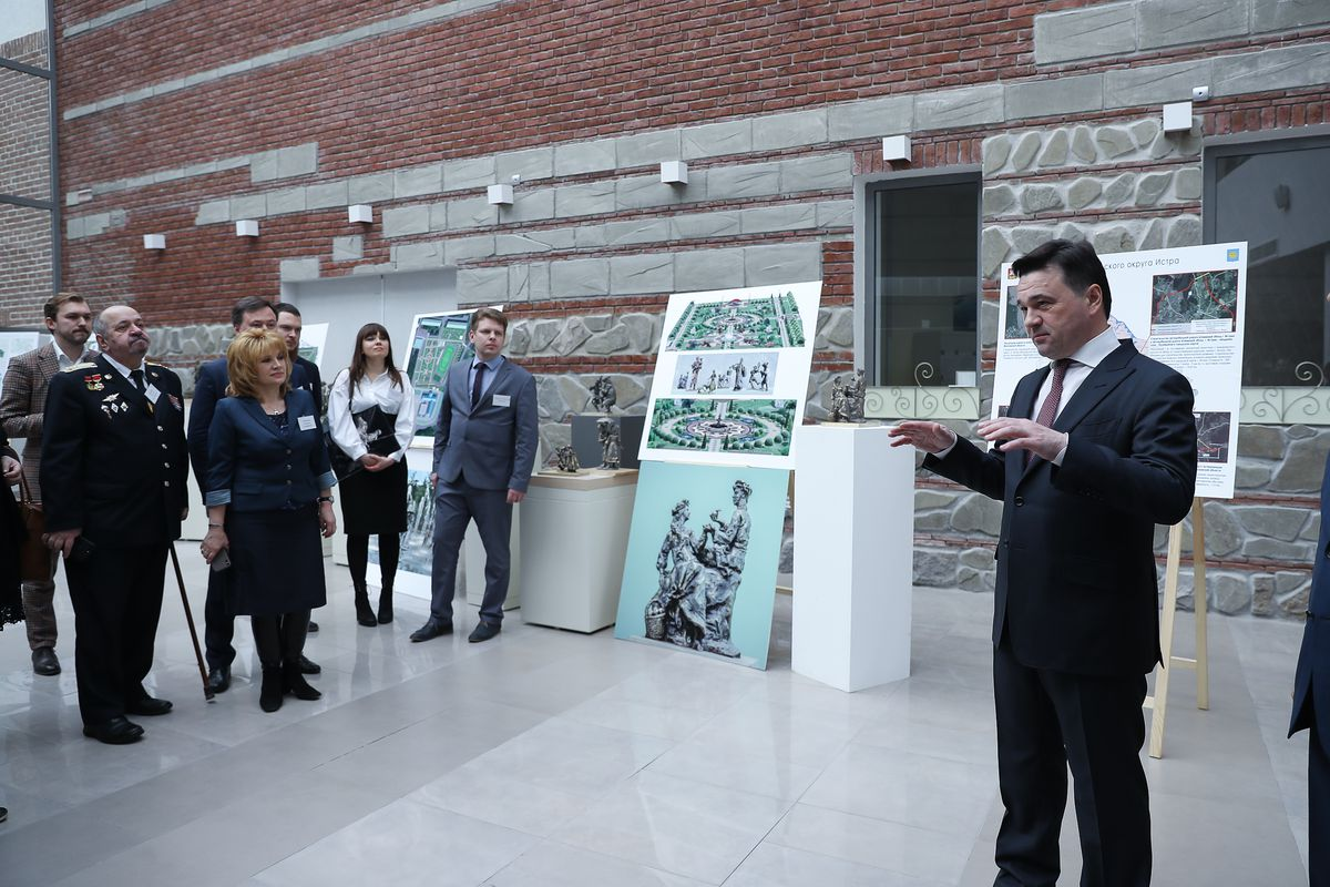 Андрей Воробьев губернатор московской области - Встреча с жителями Истры