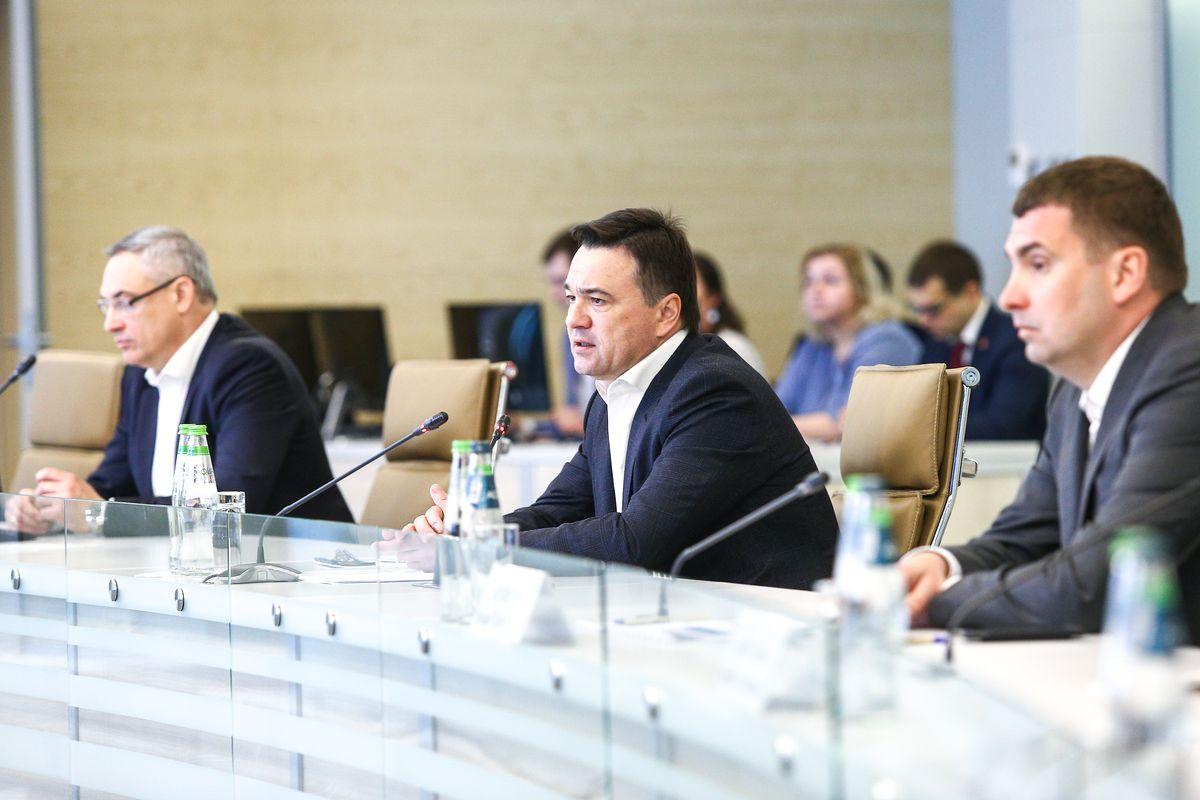Андрей Воробьев губернатор московской области - Андрей Воробьев провел совещание с главами муниципалитетов в новом формате