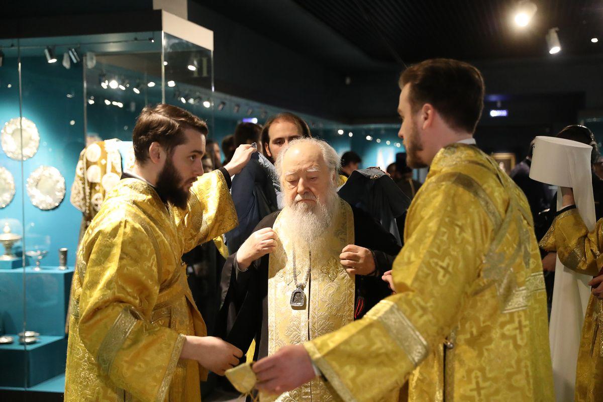 Андрей Воробьев губернатор московской области - «Особая кладовая». Презентация обновленной постоянной экспозиции в «Новом Иерусалиме»