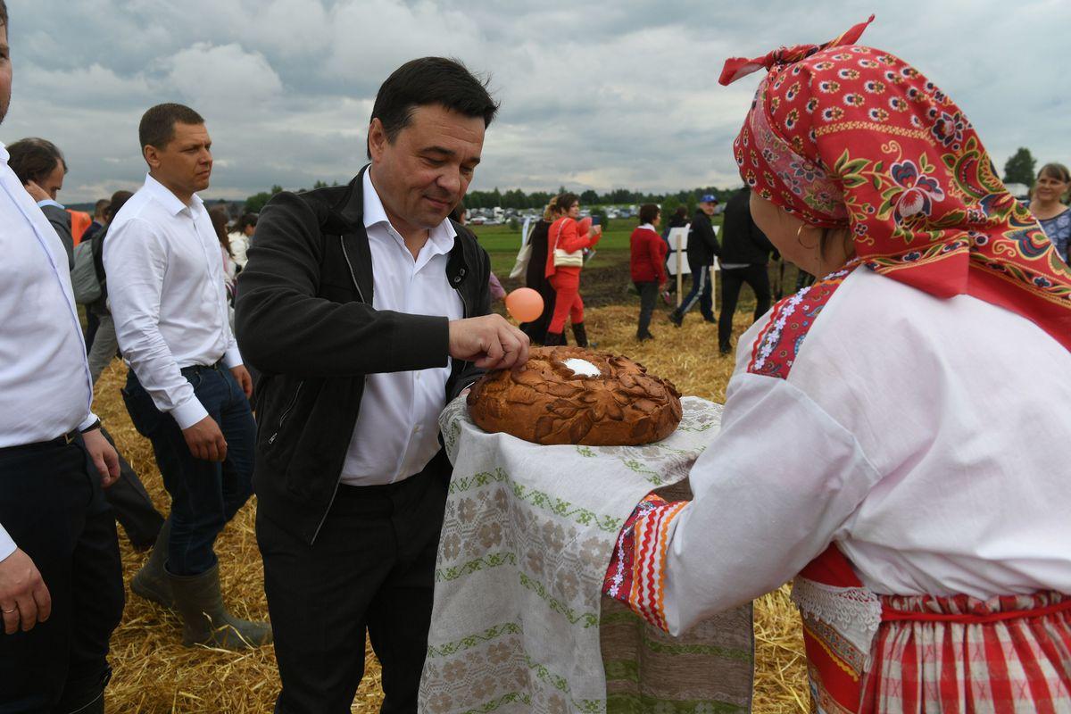 Андрей Воробьев губернатор московской области - «День поля» прошел в Подмосковье