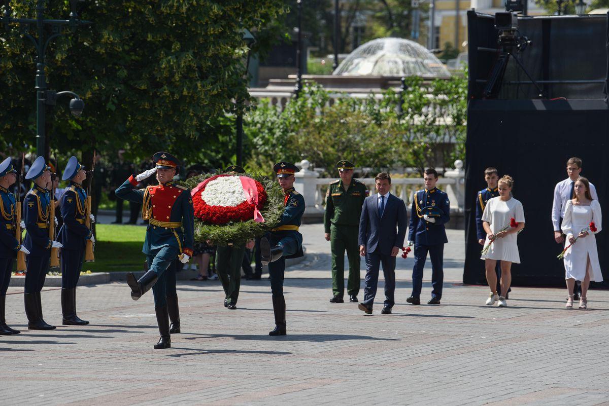 Андрей Воробьев губернатор московской области - Чтобы помнили. 80 лет назад началась Великая Отечественная война