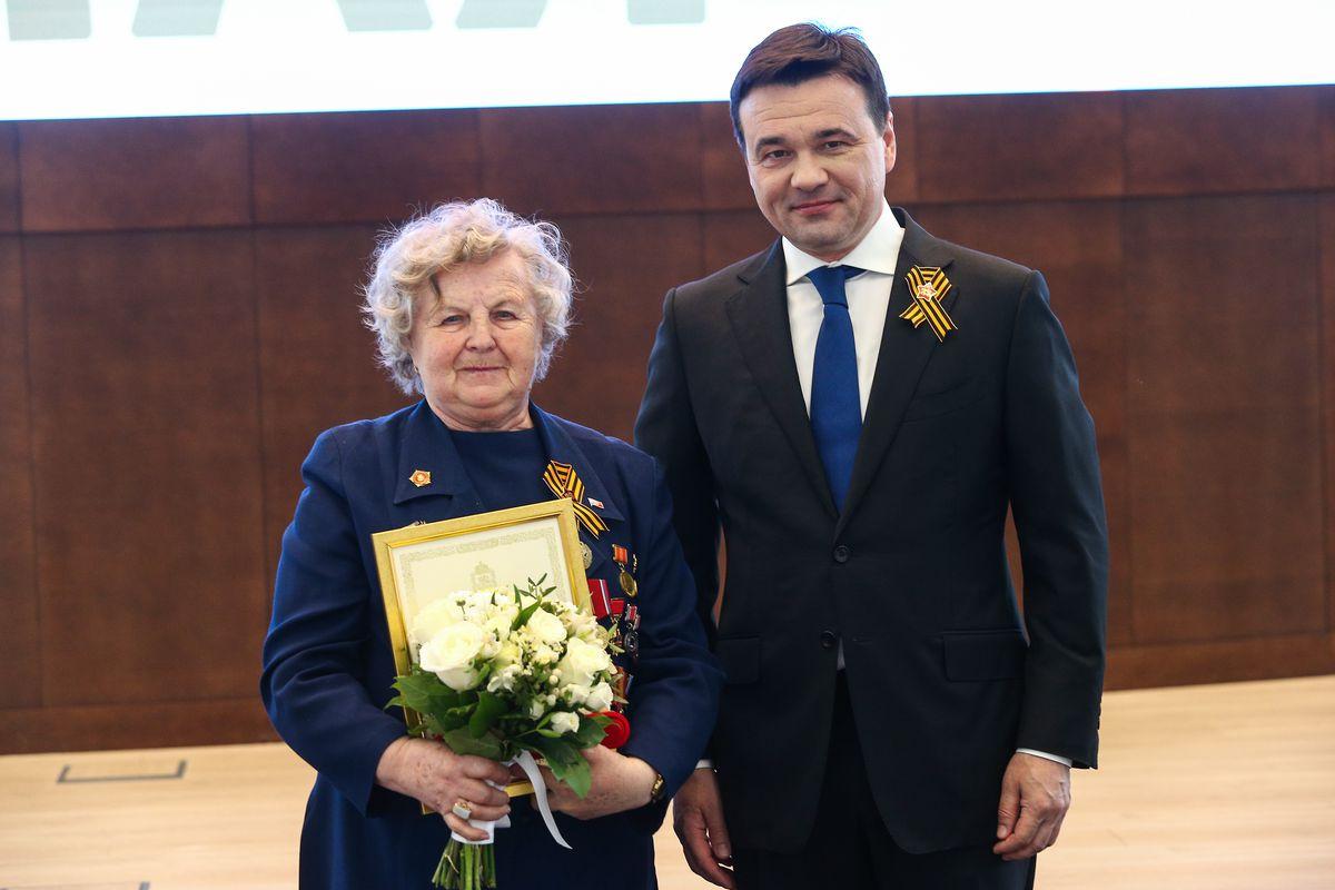 Андрей Воробьев губернатор московской области - Вручение региональных наград накануне Дня Победы