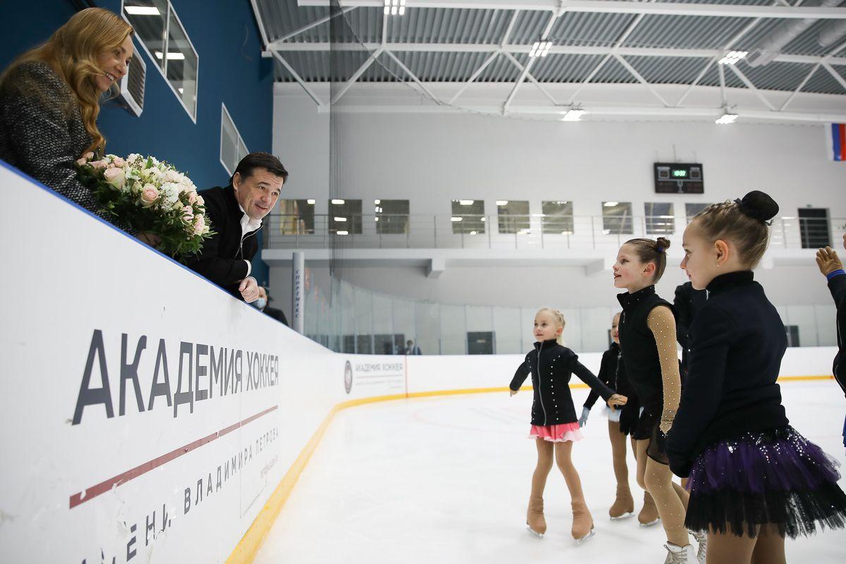 Андрей Воробьев губернатор московской области - Спорт с характером: губернатор поздравил юных хоккеистов с праздником