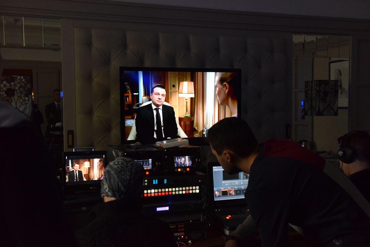 Андрей Воробьев губернатор московской области - Интервью телеканалу «Россия 24»
