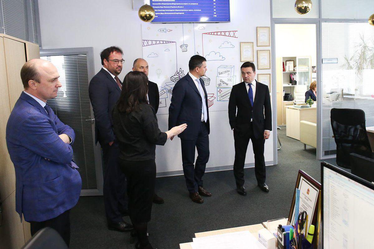 Андрей Воробьев губернатор московской области - Центр содействия строительству в Московской области