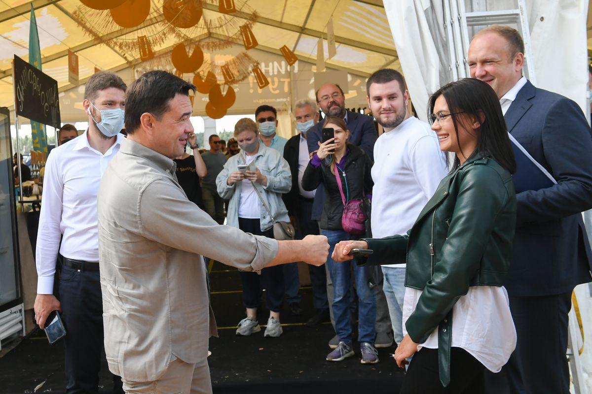 Андрей Воробьев губернатор московской области - Вкусно и полезно для бизнеса: в Истре стартовал «Сыр.Пир.Мир»