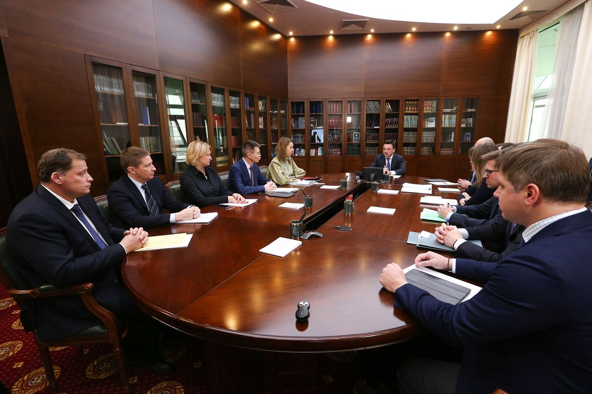 Андрей Воробьев губернатор московской области - Жители ждут продолжения: на совещании с зампредами обсудили развитие транспортной инфраструктуры