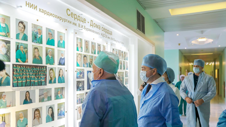 Посещение Центра сердечно-сосудистой хирургии имени А.Н. Бакулева и подписание соглашения