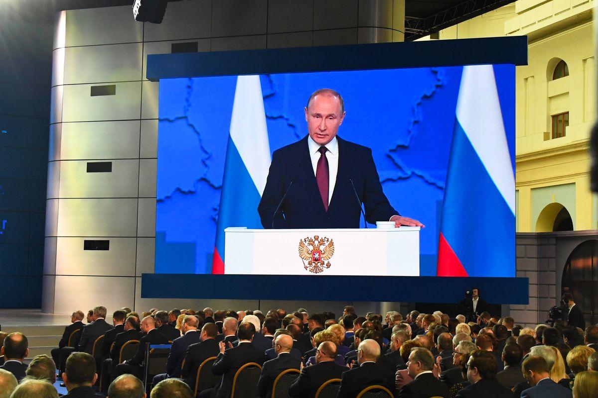 Андрей Воробьев губернатор московской области - Послание Владимира Путина Федеральном собранию