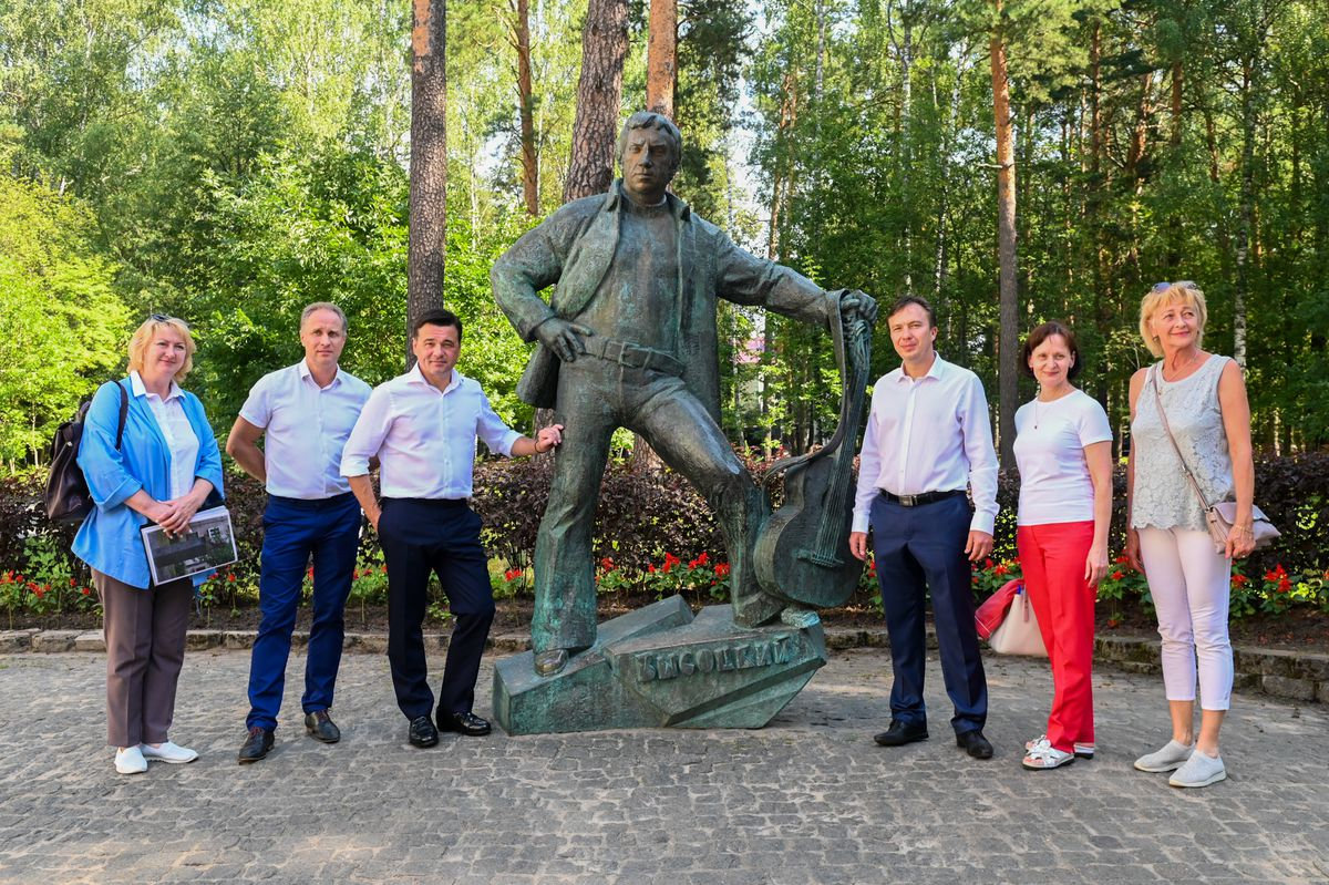 Андрей Воробьев губернатор московской области - Развитие Дубны: благоустройство, наука, свет