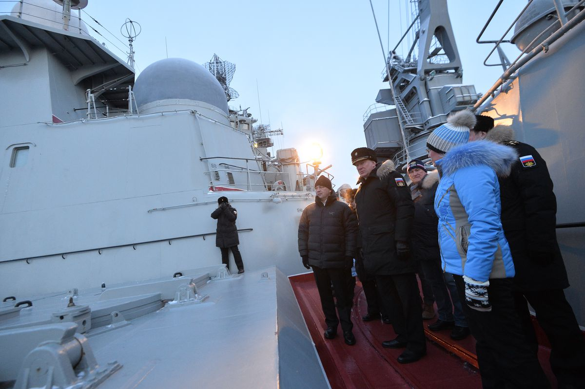 Андрей Воробьев губернатор московской области - Встреча с моряками Северного флота