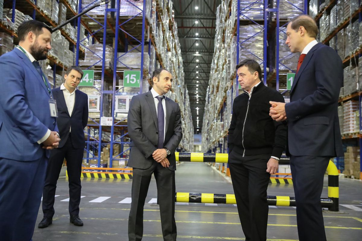 Андрей Воробьев губернатор московской области - Тесный диалог с торговыми сетями. В Подмосковье поддержали заморозку цен