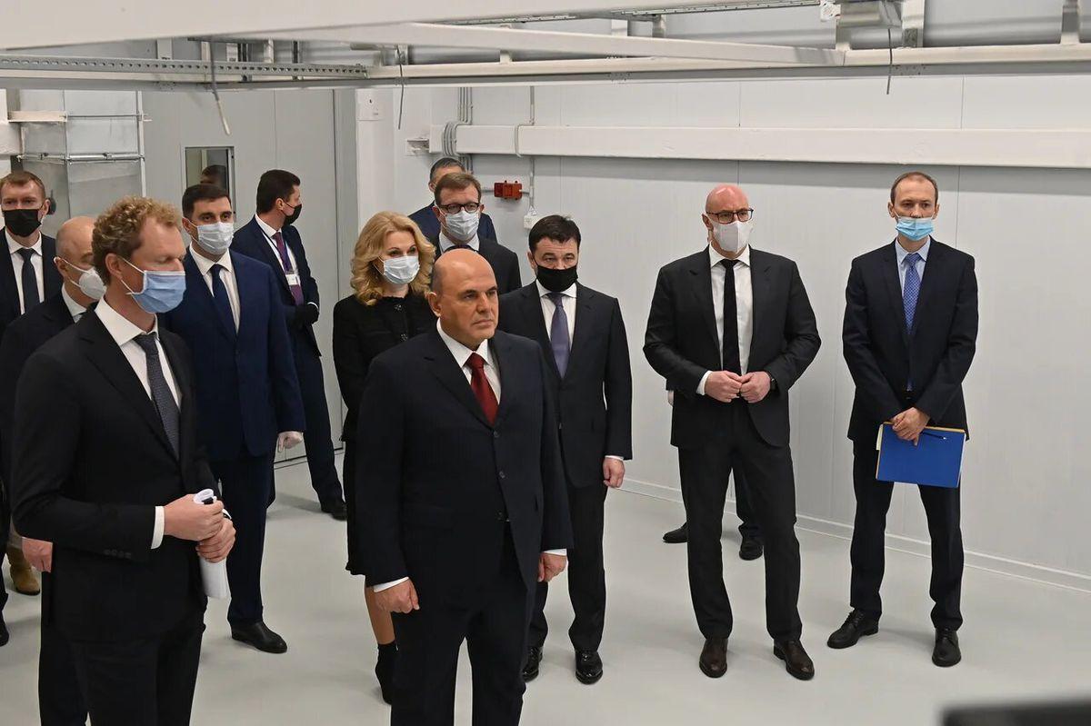 Андрей Воробьев губернатор московской области - Для удобства людей: в Дубне открыли новый Центр обработки данных