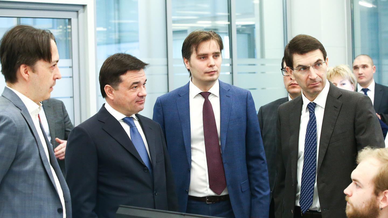 Губернатор Андрей Воробьев  представил полпреду Президента в ЦФО Игорю Щеголеву работу ЦУРа