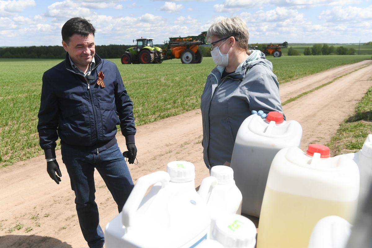Андрей Воробьев губернатор московской области - Топ-1 среди аграриев. Зарайск снова стал лидером
