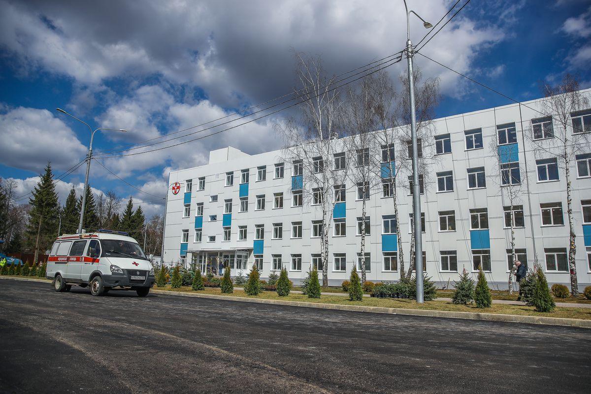 Андрей Воробьев губернатор московской области - Больница вместо казармы. В Солнечногорске за месяц построили инфекционный центр