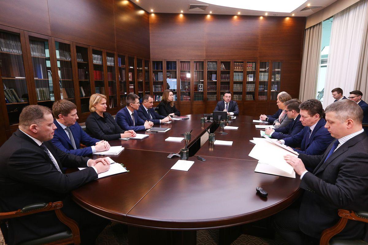 Андрей Воробьев губернатор московской области - Начать год с  выполнения нацпроектов. Образование обсудили на совещании с зампредами