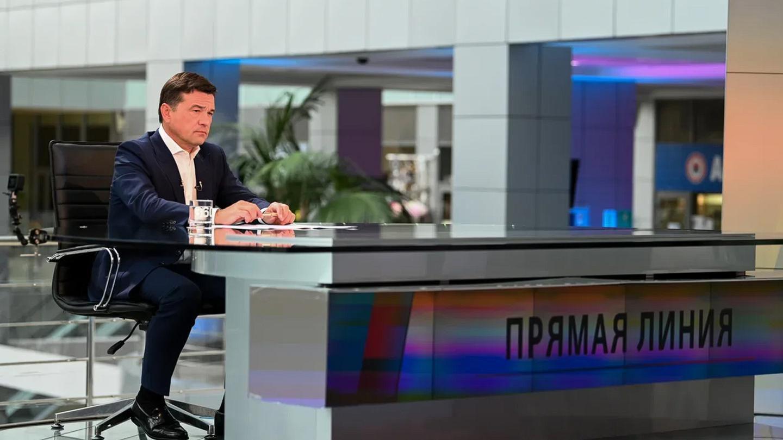 Андрей Воробьев губернатор московской области - Андрей Воробьев губернатор московской области - Итоги июля в эфире телеканала «360»