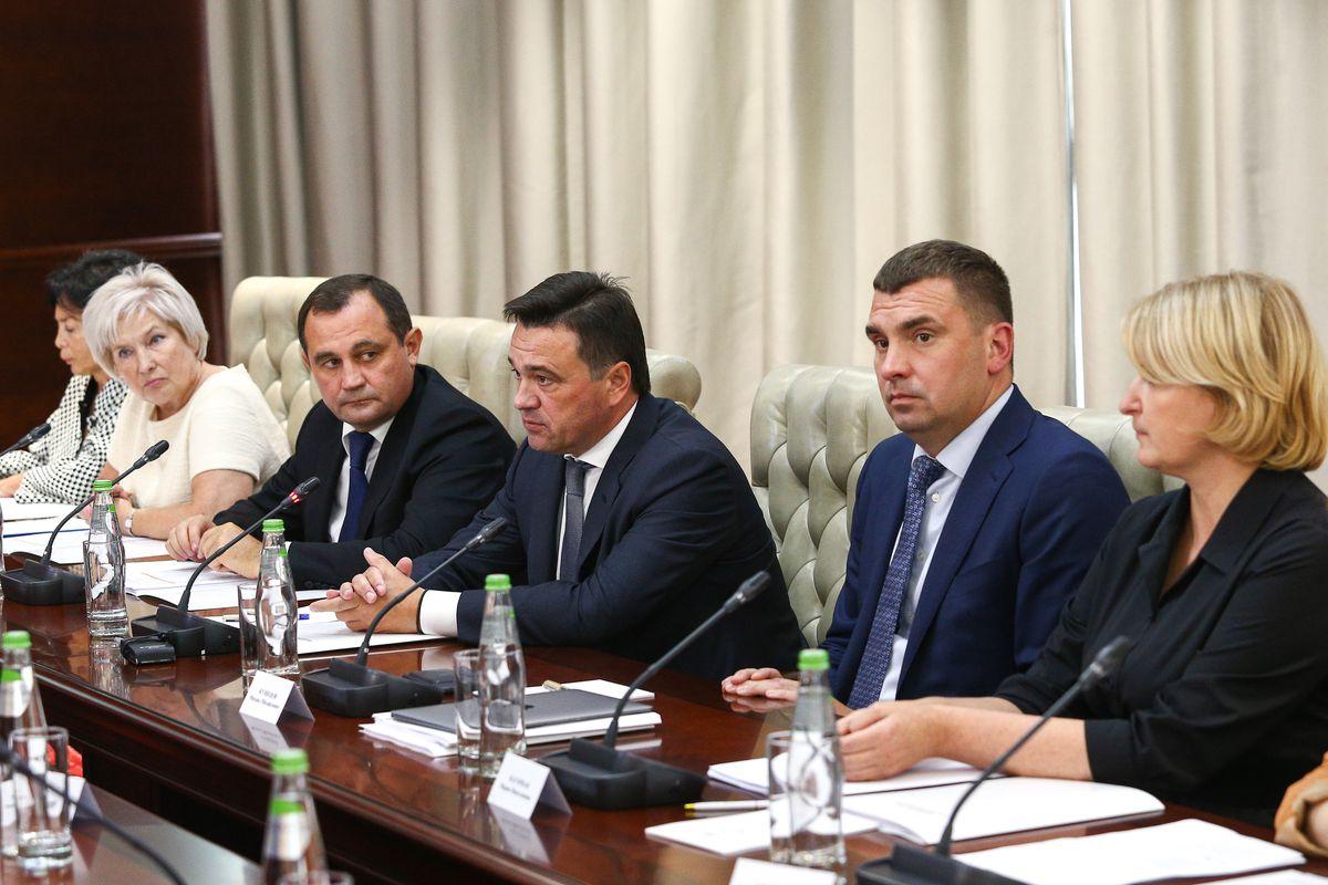 Андрей Воробьев губернатор московской области - Проведение выборов обсудили в Подмосковье