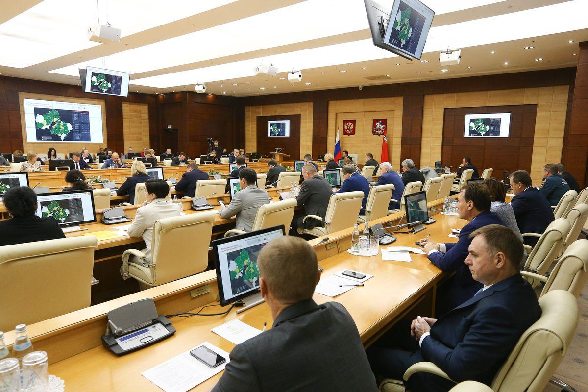 Андрей Воробьев губернатор московской области - Заседание правительства: благоустройство, дороги и муниципальные ЦУРы