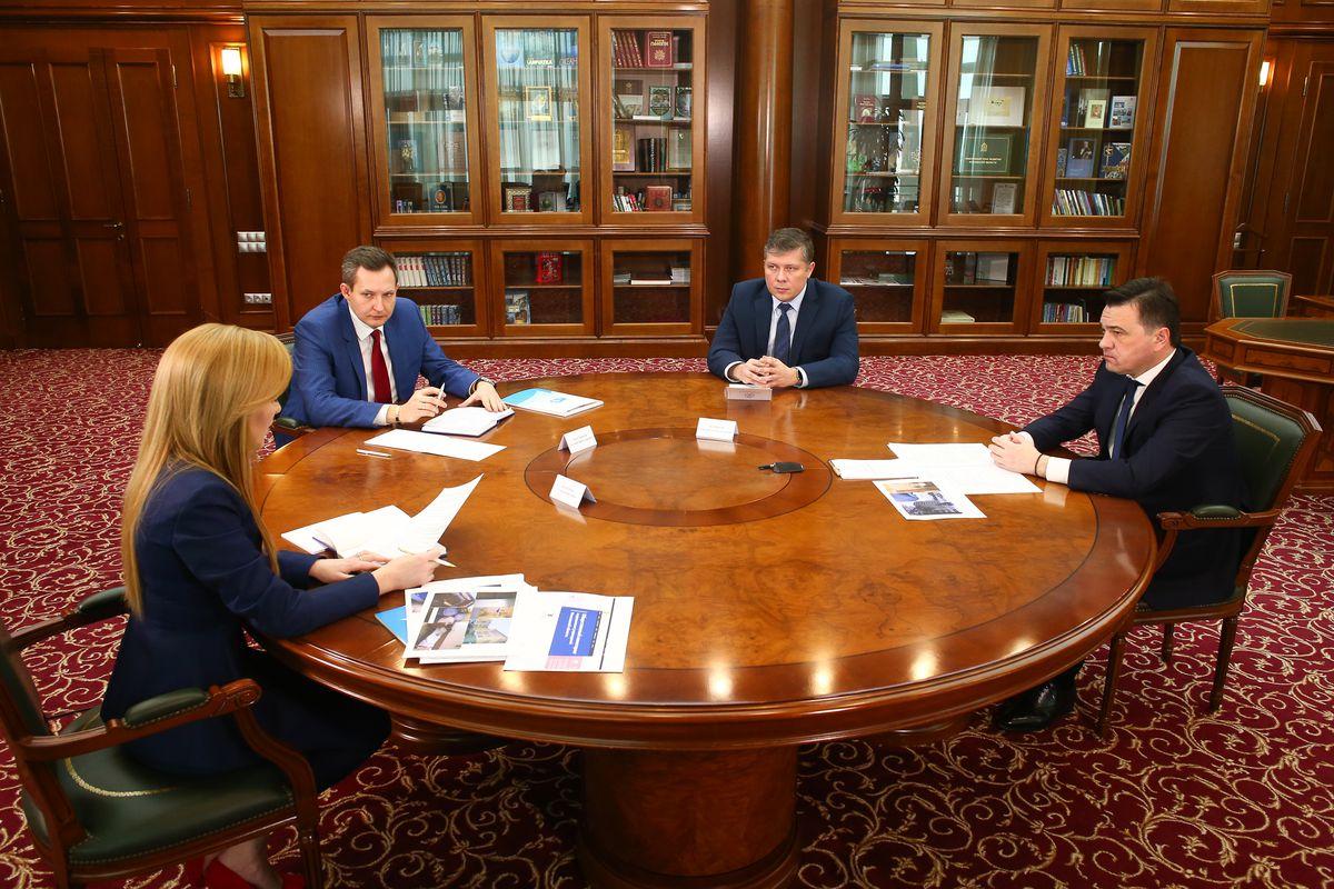 Андрей Воробьев губернатор московской области - Встреча с комиссией по здравоохранению ОП региона