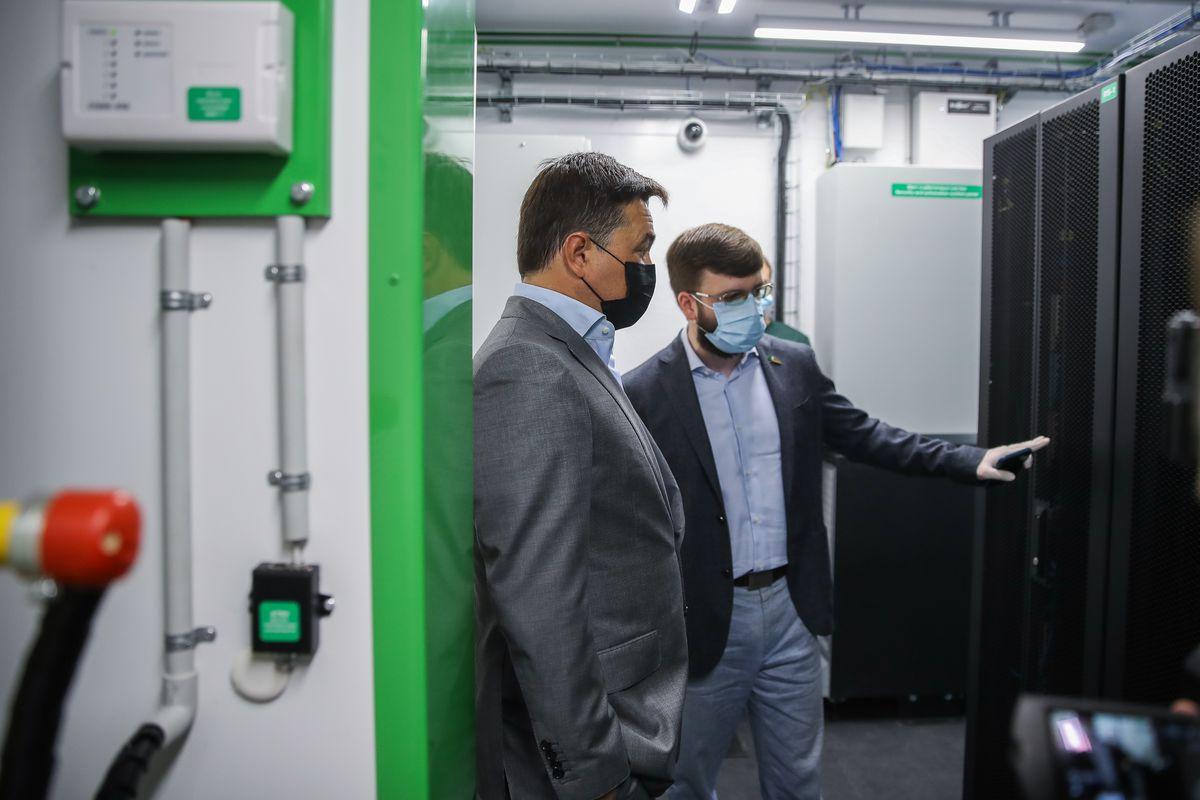 Андрей Воробьев губернатор московской области - Заводы не стоят: в Подольске открыли новую индустриальную площадку