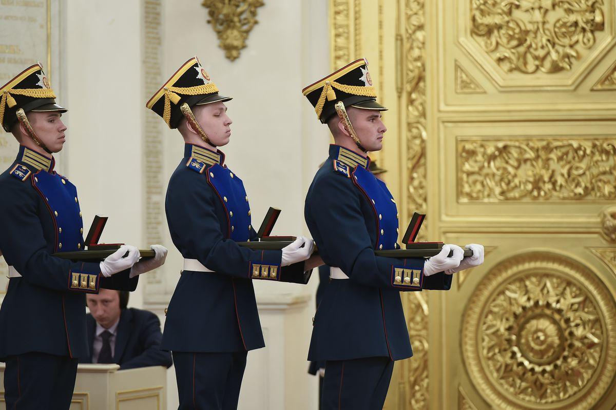 Андрей Воробьев губернатор московской области - Президент вручил Государственные премии в Кремле