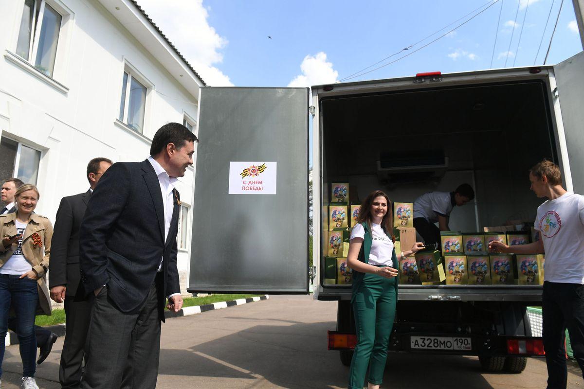 Андрей Воробьев губернатор московской области - Посещение пансионата в Ногинске