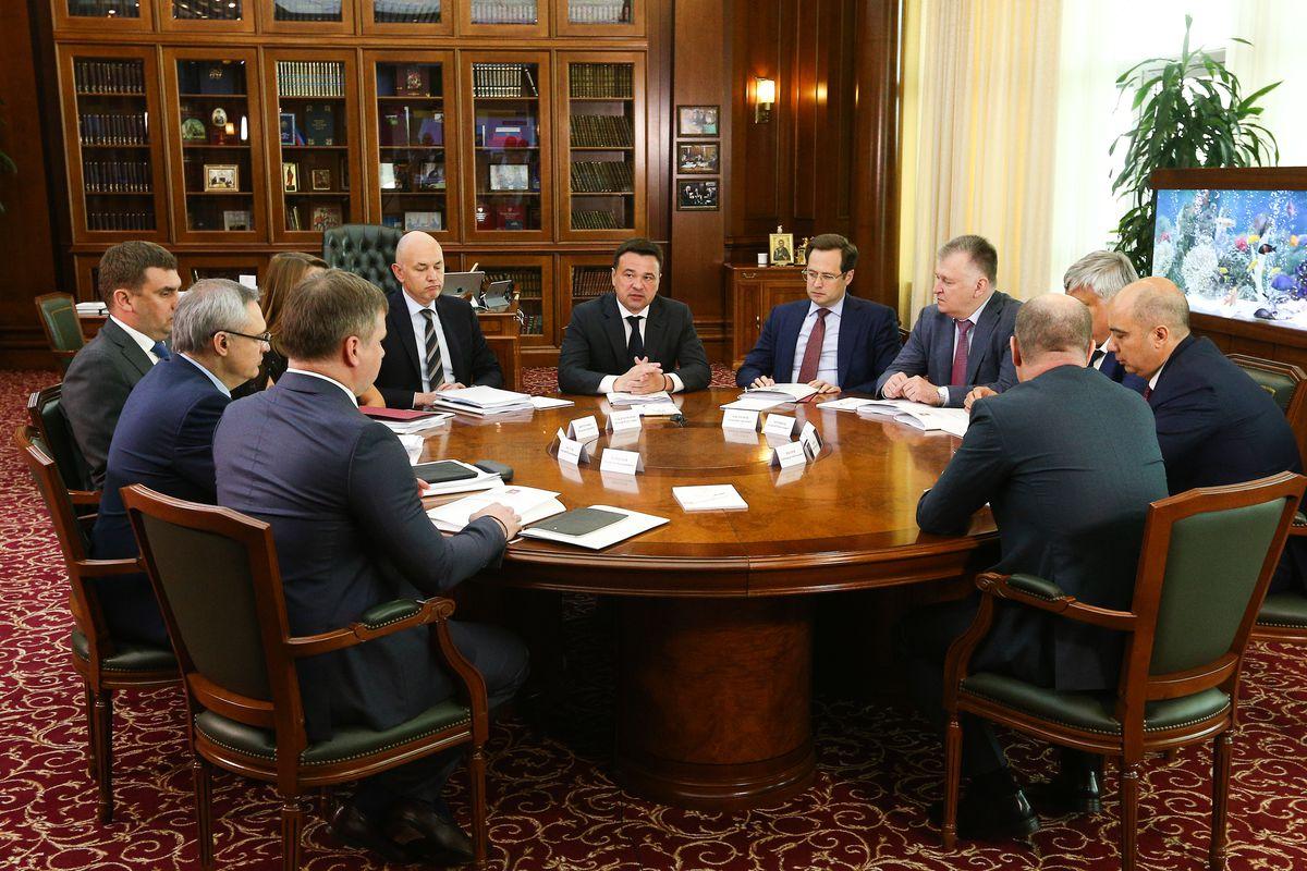 Андрей Воробьев губернатор московской области - Губернатор провел встречу с правоохранителями