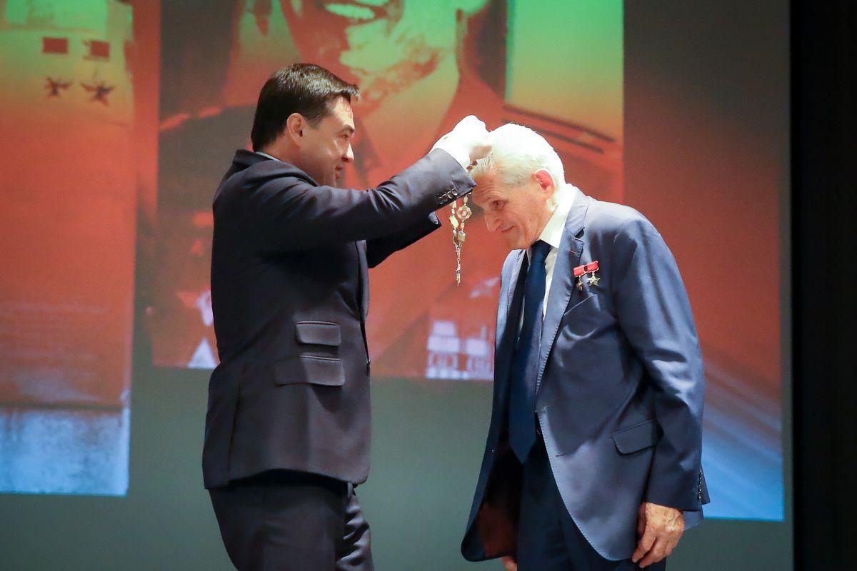 Андрей Воробьев губернатор московской области - Мировой рекордсмен и почетный гражданин Московской области: Борису Волынову исполнилось 82 лет