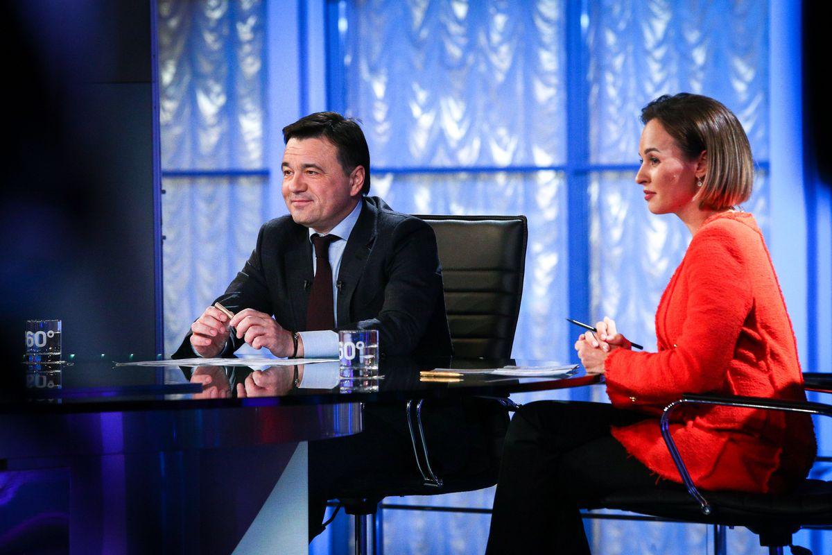 Андрей Воробьев губернатор московской области - Губернатор подвел итоги ноября в эфире телеканала «360»