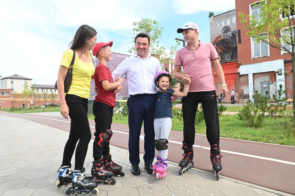 Андрей Воробьев губернатор московской области - Все по-новому. В Орехово-Зуеве идет активное благоустройство