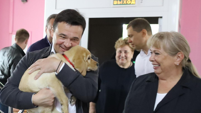 Губернатор посетил «Дмитровский детский дом-интернат»